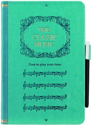 OZAKI O!coat Wisdom Music Book iPad mini Turquoise