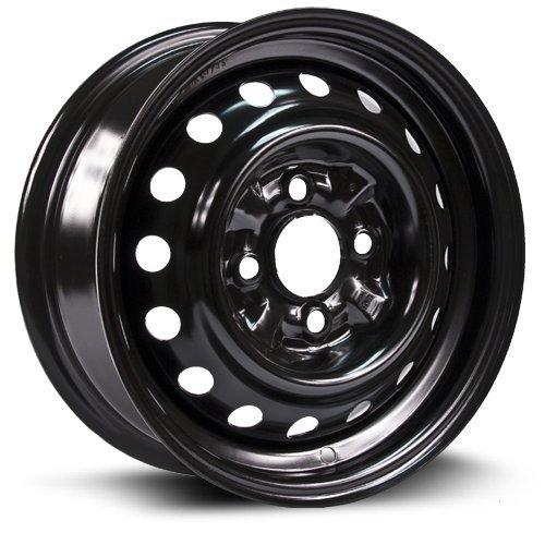 STEEL RIM 13x5 4-100 59.1 +40, black finish (MULTI FIT APPLICATION) X99108N (1991 Toyota Corolla Rims compare prices)