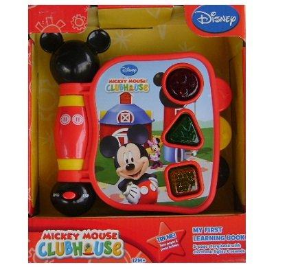 Mickey Mouse Clubhouse, mi primer libro de Mickey Luces y Sonidos de Aprendizaje
