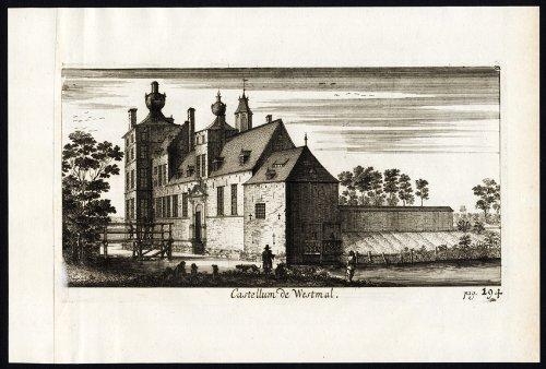 theprintscollector-antique-print-le-westmalle-castle-belgio-roy-manubri