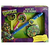 Teenage Mutant Ninja Turtles Kids Boxed Music Set - TMNT Flute Recorder, Tambourine and Maracas