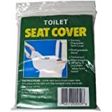 50 Disposable Toilet Seat Cover Travel Biodegradable !!