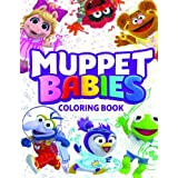 Muppet Babies Coloring Book: 60 Premium Quality Images From June and July 2018 series