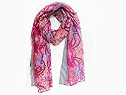 Phive Rivers Women's Scarf Red-PR1000