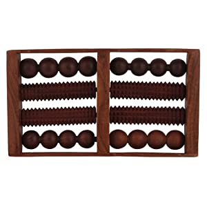 Wooden Roller Foot Massager for Body Stress Acupressure Feet Care