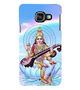 PRINTSHOPPII GODDESS SARSWATI MATA Back Case Cover for Samsung Galaxy A3 (2016) Duos