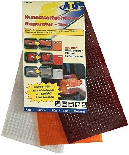 kunststoffgeh use reparatur set rot orange klar. Black Bedroom Furniture Sets. Home Design Ideas