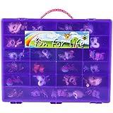Littlest Pet Shop Compatible Organizer Grape/Purple - Fun for LifeTM is Pefect Compatible Storage Case for LPS- Fits up to 60 Characters