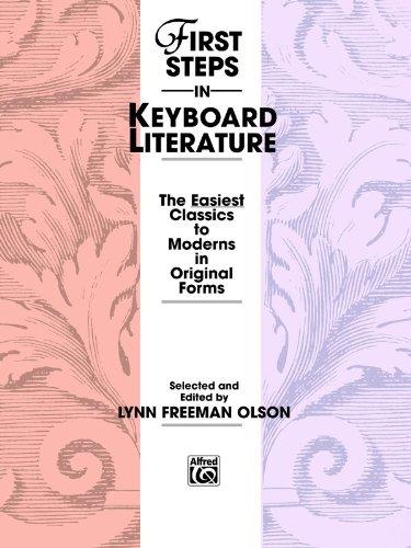 First Steps in Keyboard Literature