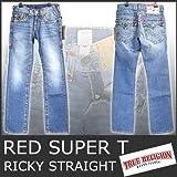 (トゥルーレリジョン)True Religion W74-78 RICKY STRAIGHT RED SUPER T デニム 5002 メンズ ジーンズ