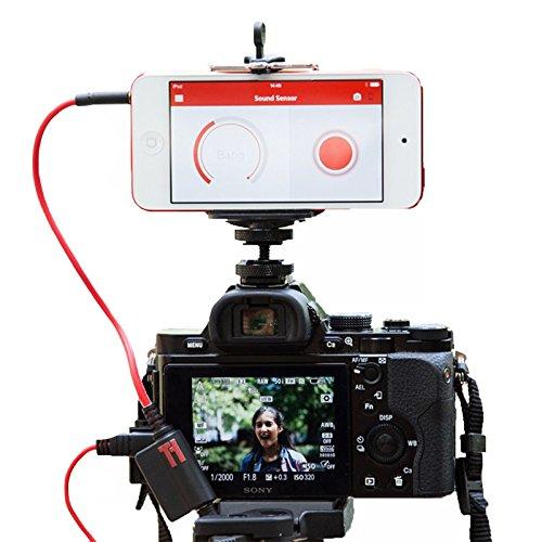 Triggertrap Smartphone-Kabelauslöser Mobile Dongle V3 (mit Kabel für Panasonic und Leica DMW-RSL1) Fernauslöser für iPhone, iPad, iPod Touch, Android (Langzeitbelichtung, HDR, Timelapse etc.) Trigger Trap Auslöser Neue Version!