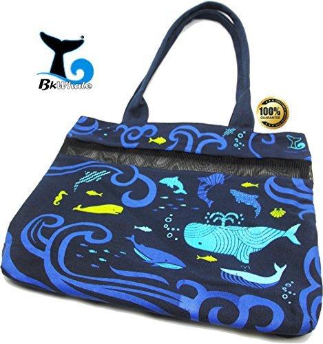 BkWhale® Deep Blue Sea Tote