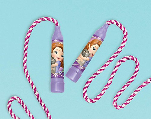 Amscan Disney Sofia the First Jump Rope, Purple, 80""