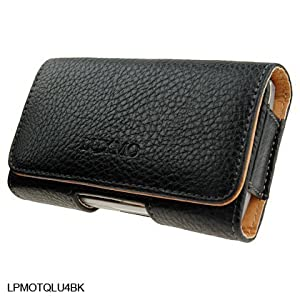 Horizontal Leather Pouch For Brand Samsung BlackJack i607 or BlackJack 2 i617 Cell Phone Case Cover with Belt Clip Magnetic Closing