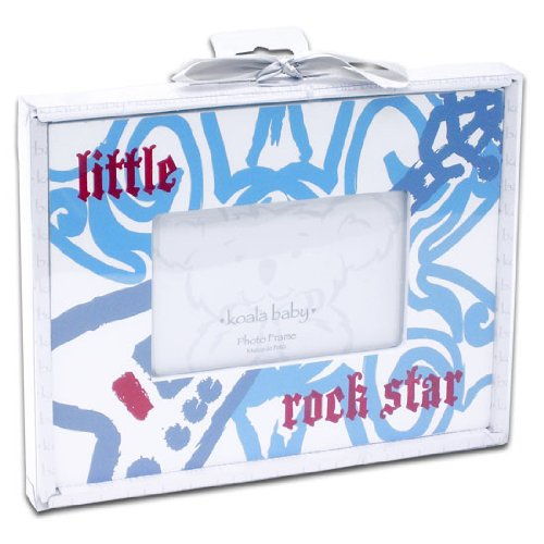 'Little Rock Star' 4X6 Picture Frame By Koala Baby