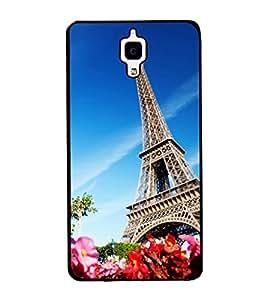 printtech Paris Tower View Back Case Cover for Xiaomi Redmi Mi4 , Xiaomi Mi 4