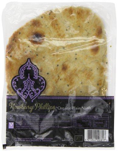 Newbury Phillips Organic Plain 2 Naan Breads (Pack of 6)