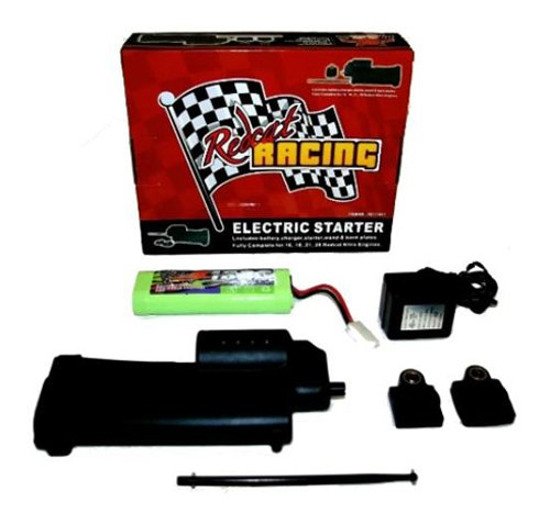 Redcat Racing Electric Starter Kit - Complete with Starter Gun, 2 Back Plates, Battery, Charger and Wand (Electric Engines compare prices)