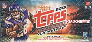 2013 Topps NFL Football Factory Sealed Retail Version Set Which includes a Pack of 5... by Factory Sealed Set