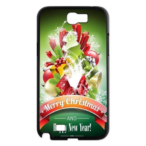 Samsung Galaxy Note 2 N7100 Christmas Phone Back Case Custom Art Print Design Hard Shell Protection Aq090992