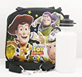 Disney Toy Story Lunch Bag w/ Sport Bottle - Black