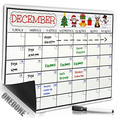 onedone-smart-planners-monthly-magnetic-dry-erase-refrigerator-whiteboard-menu-planner-use-as-planne