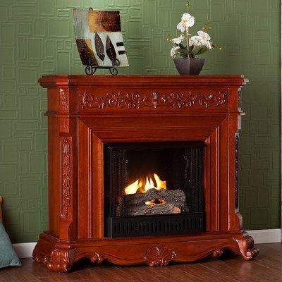 SEI AMZ1769G Hartley Gel Fuel Fireplace, Classic Mahogany picture B009L1T8J8.jpg