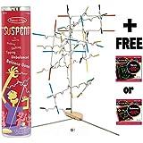 Suspend - Award Winning Family Game + FREE Melissa & Doug Scratch Art Mini-Pad Bundle