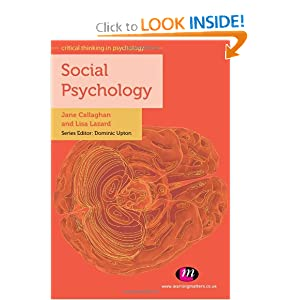 critical social psychology This introductory social psychology textbook is unique it acknowledges the two very different approaches being taken to social psychology – experimental and critical – and presents them together in a single, coherent text no attempt is made to find a cosy 'integration' between them rather .