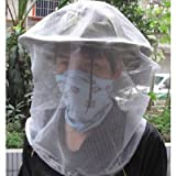 SODIAL- Bee Hat Veil Protection Beekeeping Honey Bees Mosquitoes Fishing Net storage Bag