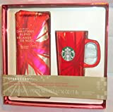 Starbucks 16oz Christmas Blend 2014 with Red Starbucks Coffee Mug
