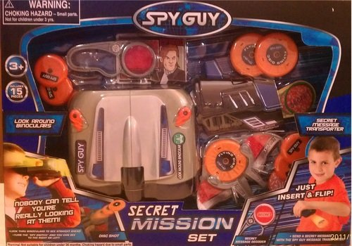 Spy Guy Secret Mission Set