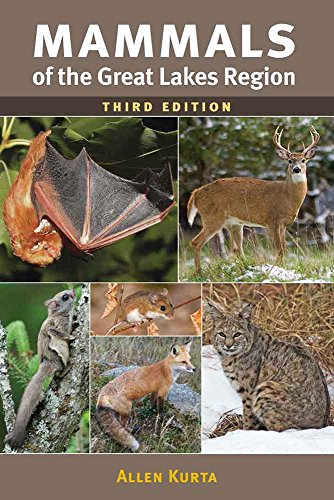 Book Cover: Mammals of the Great Lakes Region, 3rd Ed.