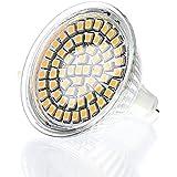 60 SMD MR16 12V LED Strahler 3W warmweiss