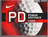 Nike PD8 Power Distance LONG Golf Ball. Dozen Pack. NEW 2014 (White)