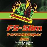 """US thermogenetischer Stoffwechselbeschleuniger by KnockOut-Nutrition - FormulaSuperSlim - 200 Tabletten geschmacksneutralvon """"Knock Out Nutrition"""""""