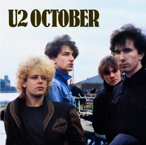 Original album cover of October by U2