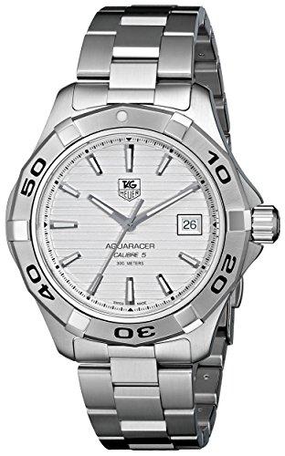 TAG Heuer Men's WAP2011BA0830 Aquaracer Silver Dial Watch