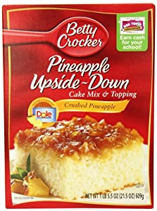 Amazon Com Betty Crocker Pineapple Upside Down Cake Mix