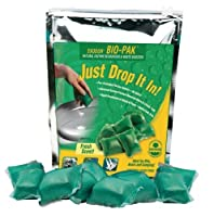 Walex BIO-11530 Bio-Pak Natural Holding Tank Deodorizer and Waste Digester, (Pack of 10)