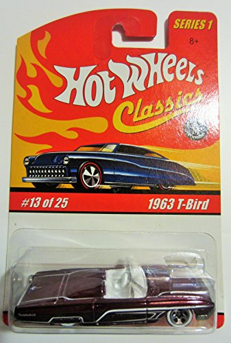 1963 T-Bird Hot Wheels Classics Series 1 - Purple 13 of 25 - 1