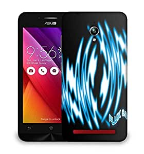 Snoogg Flux Designer Protective Phone Back Case Cover For Asus Zenfone GO