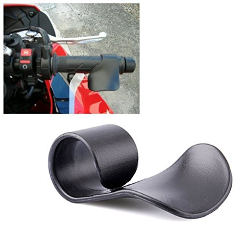Cruise Control Grip : Black motorcycle cruise assist hand rest control