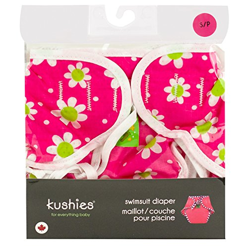 Costume pannolino lavabile Kushies Daisy Fuchsia (Children: L)