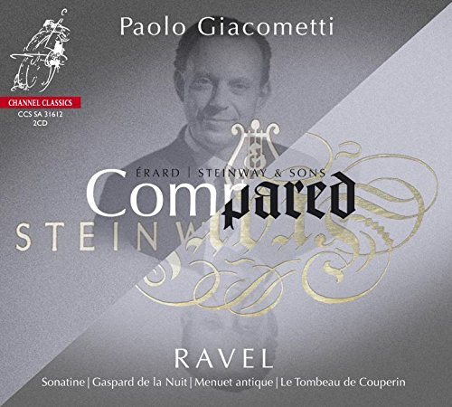Paolo Giacometti - Compared: Erard Vs Steinway 1 (Hybrid SACD, 2PC)