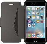 Otterbox Strada Etui en cuir v�ritable antichoc fin/�l�gant pour Iphone 6 et 6S Noir
