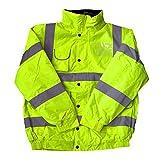 Haute Visibilité Pour Enfants Haute Visibilité Blouson Sécurité Manteau Toutes Les Couleurs Et Tailles, Jaune - Jaune, Large