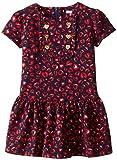 Hartstrings Little Girls' Printed Cotton Spandex Jersey Dress