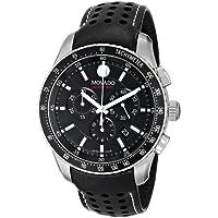 Movado Men's Series 800 Chronograph Watch (Black)