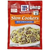McCormick Beef Stroganoff Seasoning, 1.5-Ounce Packets (Pack of 12)